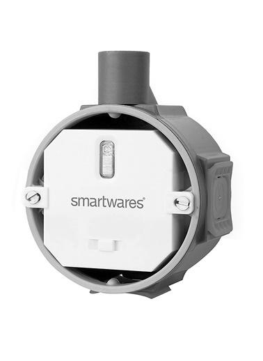 Smartwares Akıllı Ev İç Mekan Yerleştirmeli Priz Dimmer 200W'a kadar- Sinyal Alıcı Renkli